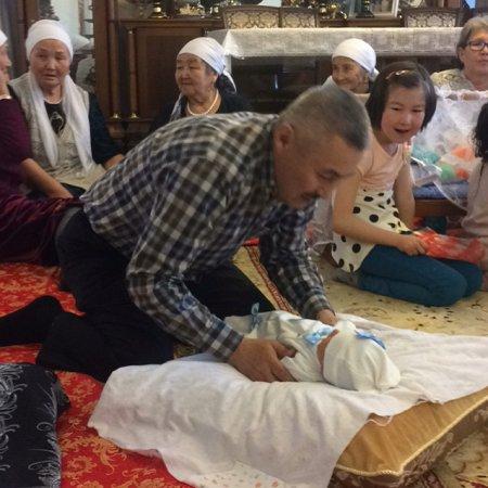 В Казахстане родился Зинеден Зидан