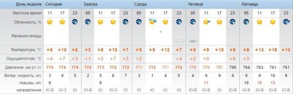 Синоптики обещают ясную погоду в Актау