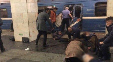 Взрыв прогремел в метро Санкт-Петербурга - СМИ
