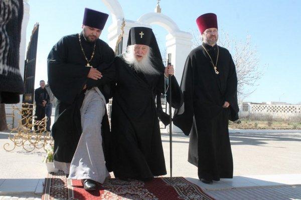 В Актау привезли мощи Матроны Московской