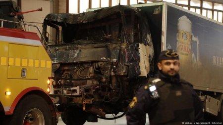 Полиция Стокгольма назвала задержанного предполагаемым исполнителем теракта