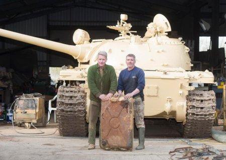Британец нашел в советском танке золотые слитки на 2 миллиона евро