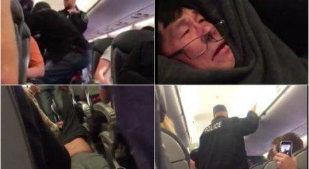 """Пассажира """"назначили"""" лишним и выволокли из переполненного самолета в США"""