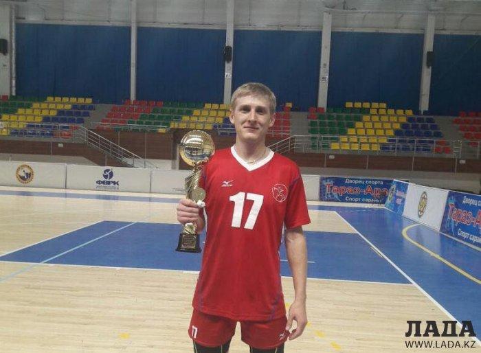 В Актау встретили победителей чемпионата Казахстана по волейболу