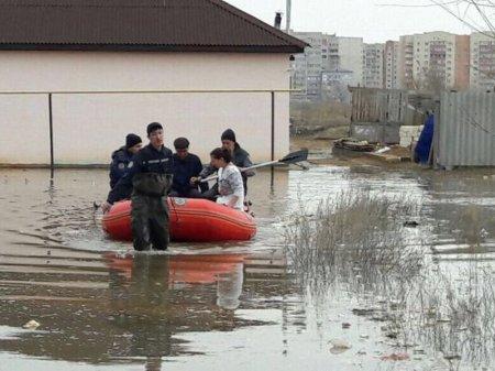 Пострадавшие от паводков жители Актюбинской области нуждаются в помощи