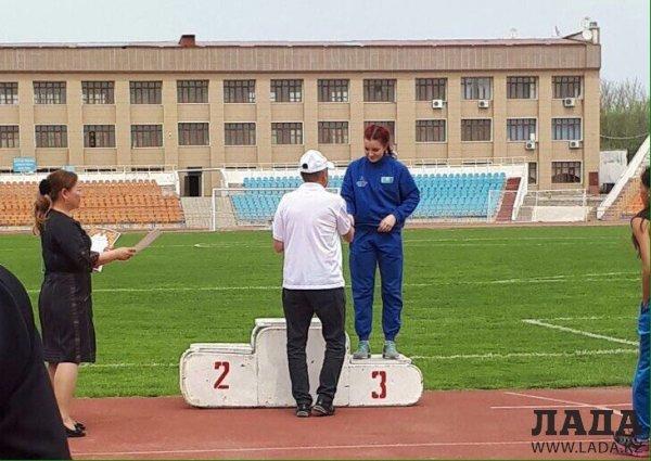 На республиканском турнире по легкой атлетике спортсмены из Актау завоевали 14 медалей