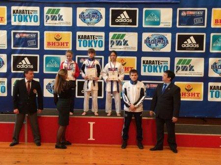 Спортсмены из Актау завоевали девять медалей на международных соревнованиях по карате-до в Пензе