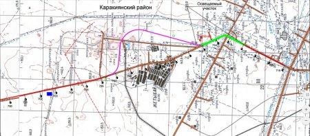 На освещение автомобильной дороги Бейнеу-Актау планируют затратить 100 миллионов тенге