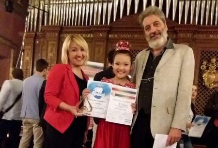 Айнура Шукурова из Жанаозена заняла первое место на международном музыкальном конкурсе в Риме