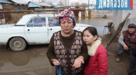 """""""Куда смотрят власти?"""": Эмоциональное обращение 10-летней девочки, пострадавшей от потопа в Актобе"""