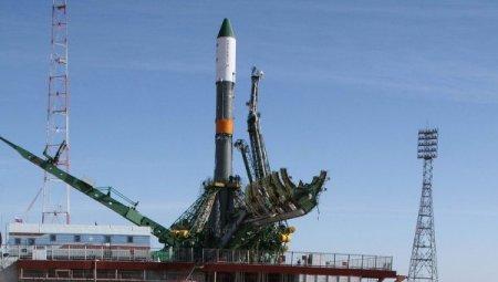 С Байконура стартовала ракета с американским и российским космонавтами