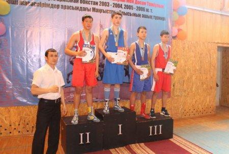 Мангистауские спортсмены завоевали 11 золотых медалей на юношеском первенстве по боксу
