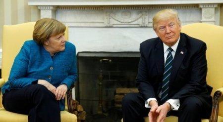 Трамп рассказал, почему не пожал руку Меркель