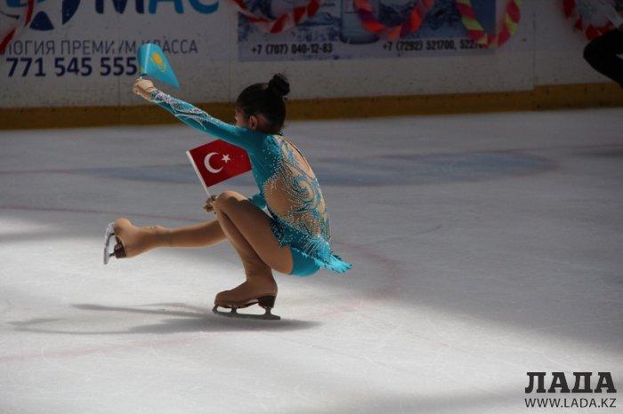 Юные фигуристки из Актау завоевали пять медалей на двух турнирах в Кызылорде
