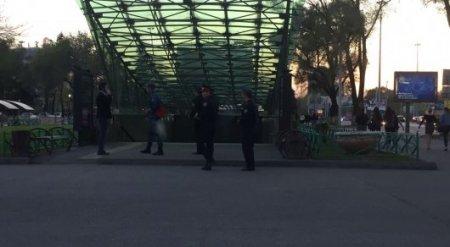 Поиск бомбы в метрополитене Алматы завершен