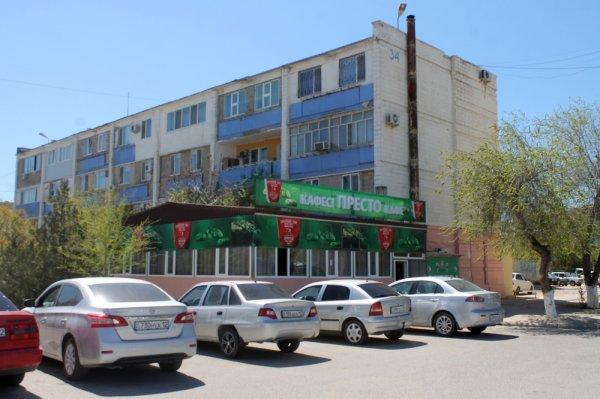Во 2 микрорайоне Актау снесли незаконно возведенное кафе