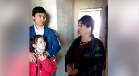"""""""Плачущей девочке"""" показали новую квартиру в Актобе"""