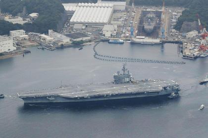 США направили второй авианосец к Корейскому полуострову