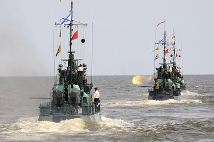 Начались учения Каспийской флотилии в Дагестане и Астрахани