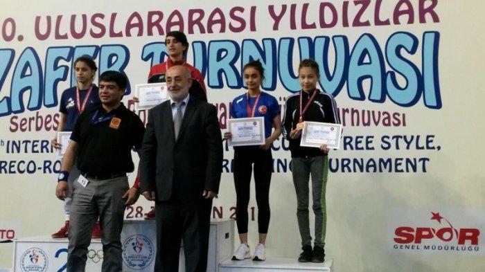 Марал Танибергенова из Актау завоевала бронзовую медаль на международном турнире по вольной борьбе в Турции