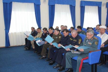 Вопросы пресечения участия жителей региона в террористической деятельности обсудили в КНБ Мангистау