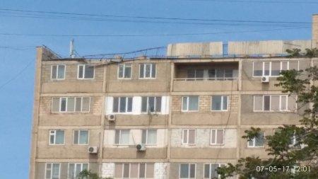 Крыша 28-го дома в 8-ом мкр