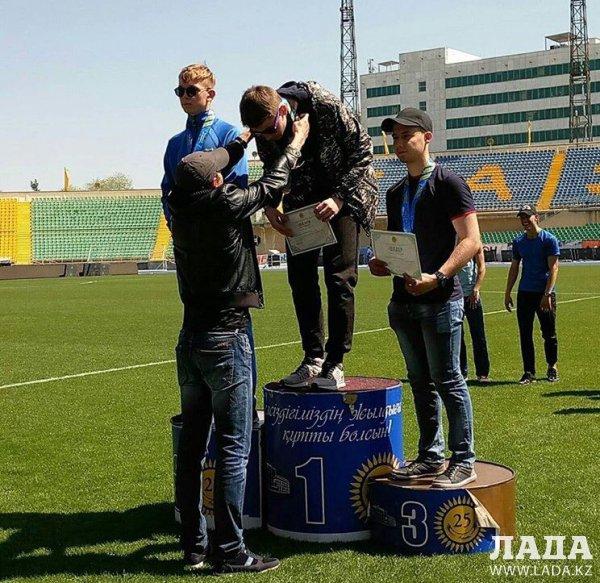 Легкоатлеты из Актау завоевали шесть медалей на чемпионате Казахстана