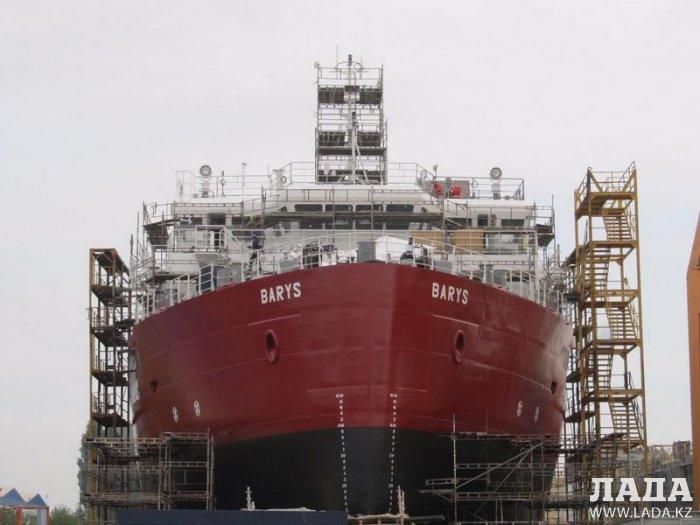 По маршруту порт Курык – порт Прорва планируют пустить судно «Барыс»