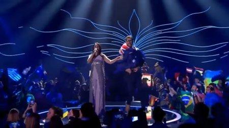 Зритель попытался сорвать выступление украинской певицы Джамалы на «Евровидении»