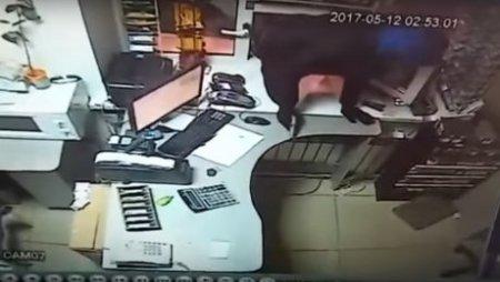 В Костанае совершено дерзкое разбойное нападение на АЗС
