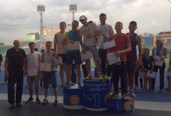 Спортсмены из Актау стали призерами чемпионата Центральной Азии по легкой атлетике
