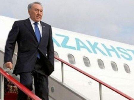 Нурсултан Назарбаев прибыл в Саудовскую Аравию