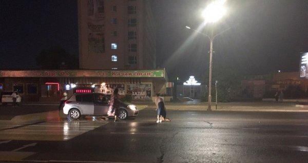 Женщина-водитель сбила жительницу Актау на пешеходном переходе