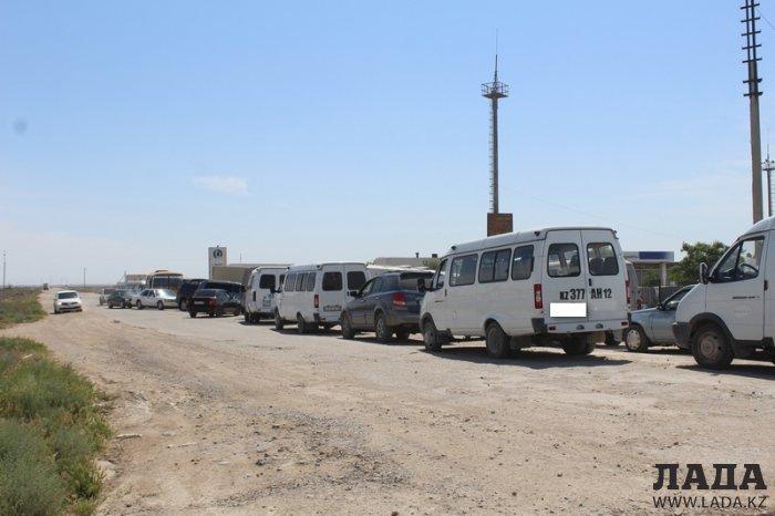 Конфликт между водителями произошел на заправке «Казмунайгаз» в Актау