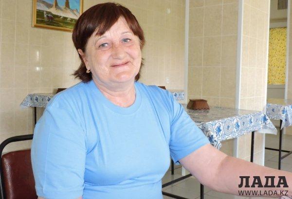 Тамара Карлова вошла в тройку лидеров на спартакиаде среди жителей Мангистауского дома престарелых