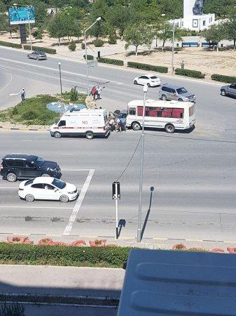 Двое мужчин пострадали в ДТП с участием автобуса в Актау