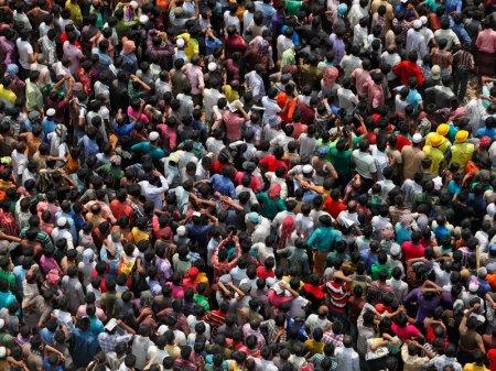 Индия обогнала Китай по численности населения