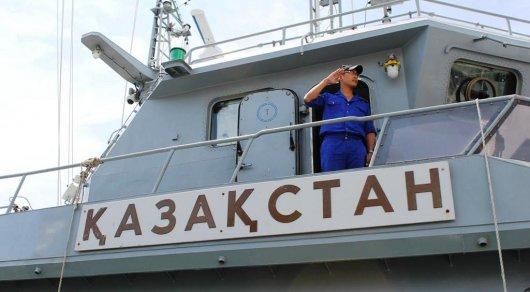Унесенных в море жителей Актау спас экипаж ракетно-артиллерийского корабля «Казахстан»