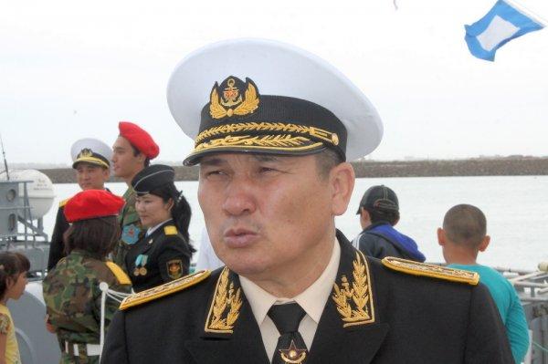 Состав Военно-морских сил Казахстана пополнил минно-тральный корабль «Алатау»