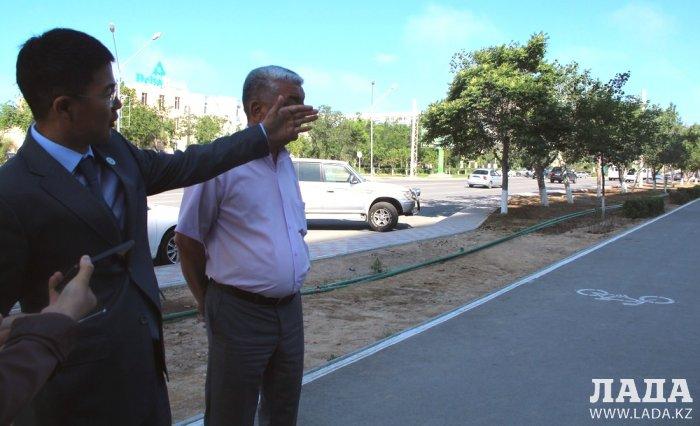 Руководитель отдела ЖКХ рассказал о планах по благоустройству и озеленению Актау