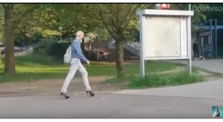 """""""Дед на каблуках"""" поразил пользователей Сети"""