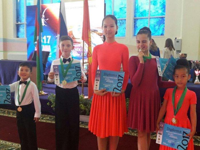 Шестеро танцоров представили Актау на международном турнире Silk Way в Астане