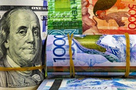 Доллар за сутки подорожал на 1,5 тенге