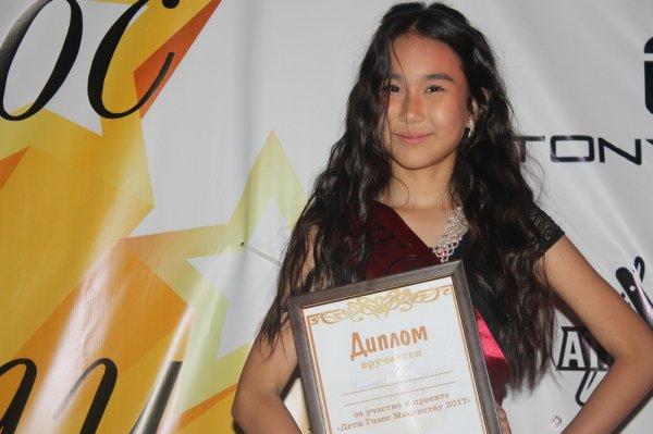 Нурболат Наурызбек стал победителем конкурса «Детский голос Мангистау-2017»