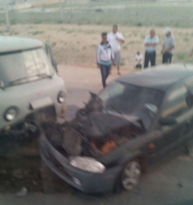 В аварии на трассе Актау-Каламкас пострадали два пассажира автомобиля Mazda