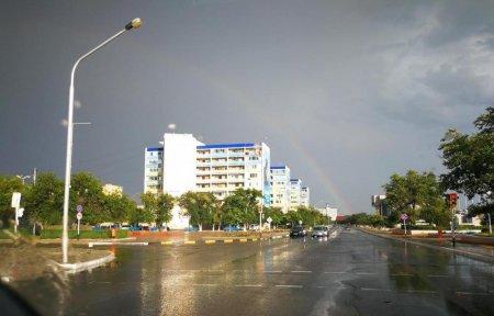 Краски города после дождя