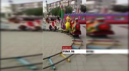 Поезд-аттракцион придавил ребенка в Карагандинской области