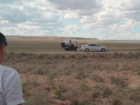 Авария со смертельным исходом произошла на трассе Актау-Шетпе