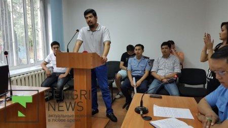 Максата Усенова арестовали на 10 суток