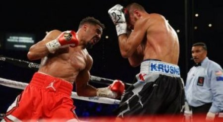 Уорд одержал досрочную победу над Ковалевым в реванше и защитил свои титулы